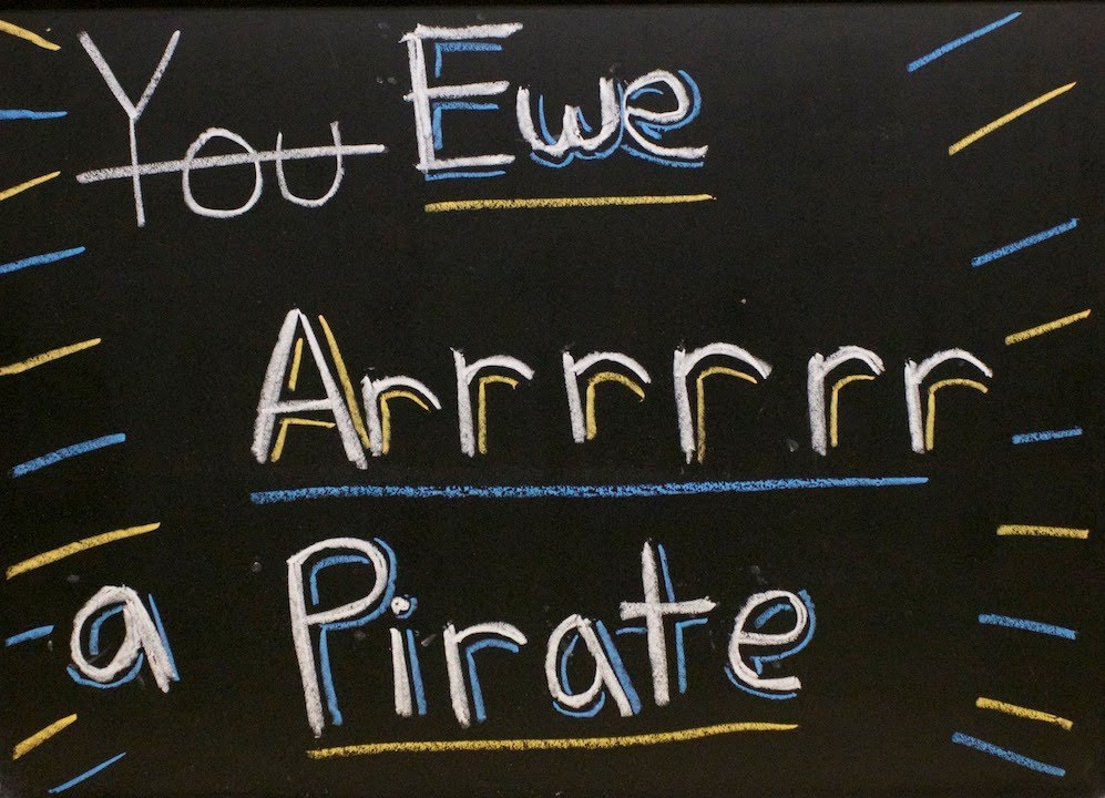 Ewe Arrrrrr a Pirate - A vlog about the piracy of movies and music.