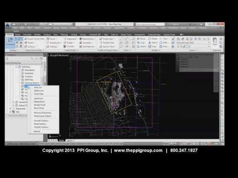 Tech Tip: Working with LIDAR Surfaces in Autodesk® Civil 3D