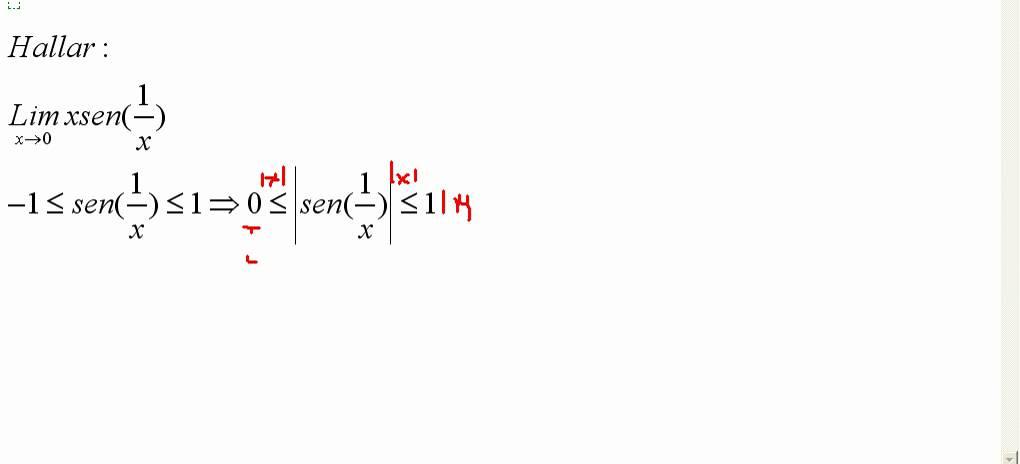 Teorema Del Sandwich By Mathema Getafe