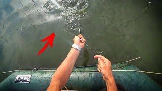 Рыбалка на ПЕРЕМЁТ Карпы сами ловятся Супер снасть поплавок