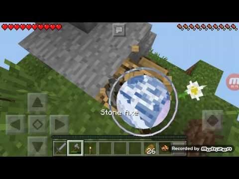 Minecraftsky Block/1 Bölüm/yeni Seri!!!