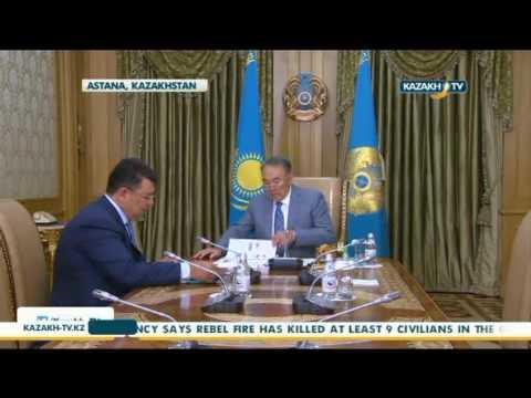 Kazakh President meets with Minister of Energy - Kazakh TV