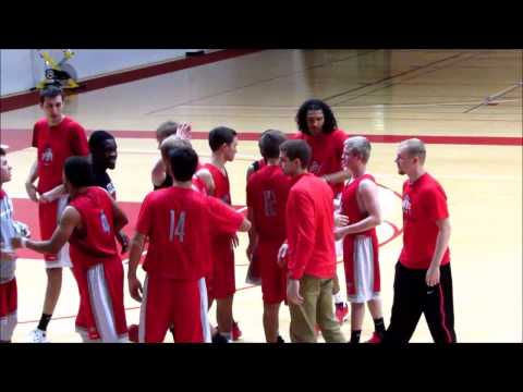 Ohio State Club Basketball vs Wittenberg - Marquis Gaines SHOWS OUT