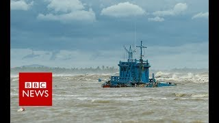 Thailand Pabuk: Tourist islands hit by storm - BBC News