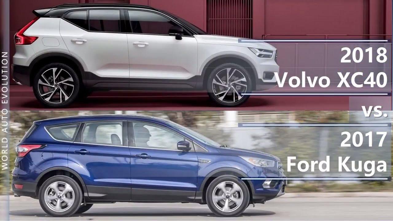 Volvo Xc Ford Kuga Technical Comparison