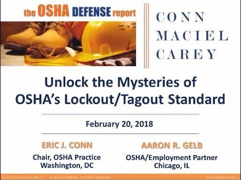 Unlock The Mysteries Of OSHA's Lockout/Tagout Standard