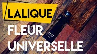 PACHNĄCY TYP - PERFUMY Lalique Fleur Universelle: Rum, cynamon oraz kocanka