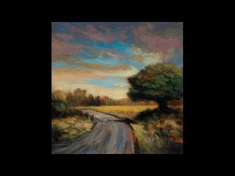 Autumn Passage 5×5 Redo Tonalist Landscape Oil Painting Demonstration