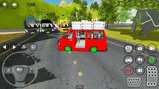 MiniBus Game: Cargo And People Transporter - Mabar Angkot Simulator #3 - Android Gameplay