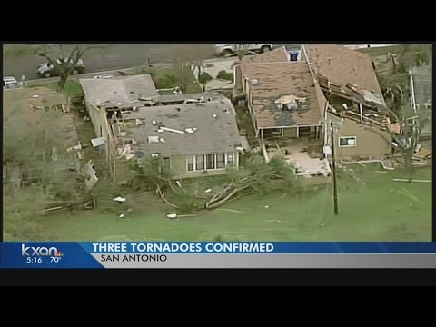 Three tornadoes wreak havoc in San Antonio