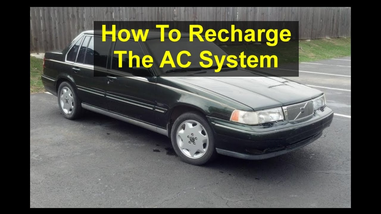 car ac not cold self service volvo 960 s90 v90 votd [ 1280 x 720 Pixel ]