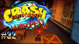 Oscuridad en una tumba egipcia/Crash Bandicoot: Warped #32