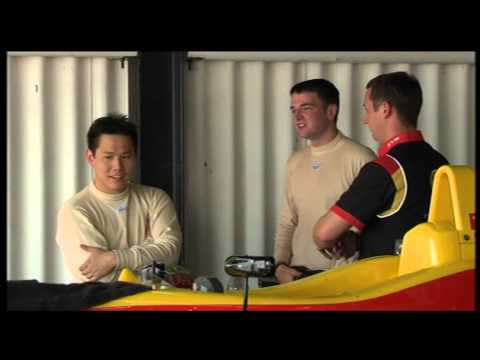 """2012-10-15 - """"Cefn Gwlad"""" (S4C) - Hywel Lloyd, Formula 3 testing at Anglesey Circuit"""