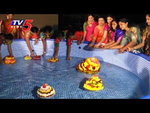 Detroit Telangana Community  DTC Bathukamma Celebrations  USA  TV5 News