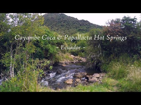 Hiking The Andes - Cayambe Coca and Papallacta Hot Springs - Napo, Ecuador - Travel vlog
