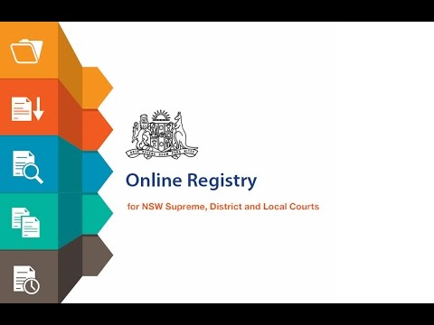 File Court Attendance Notice on behalf of NSW government department or agency