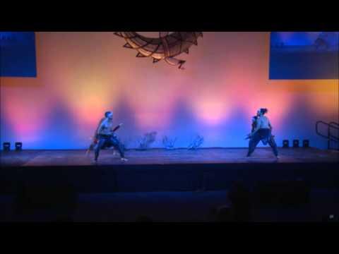 Opening Ceremony 18 - Dance Performance - Bangarra - Black