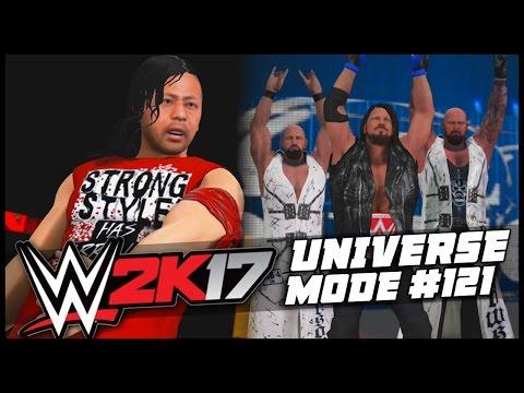 WWE 2K17   Universe Mode - 'CHAMP THAT RUNS THE CAMP!'   #121