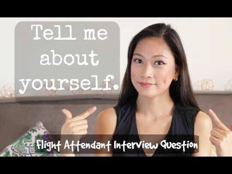 TELL ME ABOUT YOURSELF? (A Good Way To Answer) | Cabin Crew Tutorial By Misskaykrizz