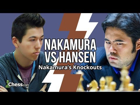 Nakamura Vs Hansen: 13 Game Blitz Chess Series