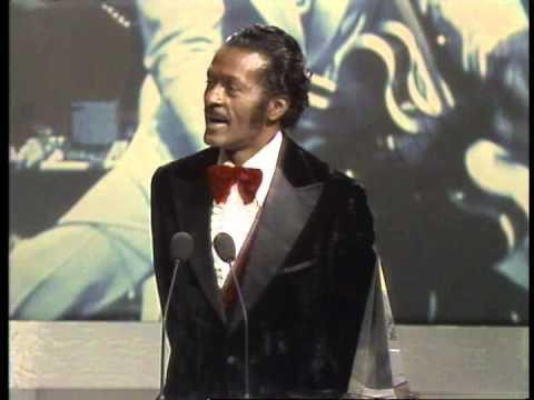 Chuck Berry wins the Musical Award of Merit- AMA 1981
