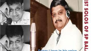 Maname maname  - SP Balasubramaniam (tamil solo)