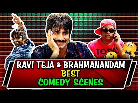 Ravi Teja & Brahmanandam Best Comedy Scenes | South Indian Hindi Dubbed Best Comedy Scenes thumbnail