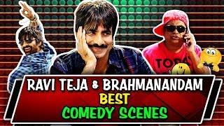 Ravi Teja & Brahmanandam Best Comedy Scenes | South Indian Hindi Dubbed Best Comedy Scenes