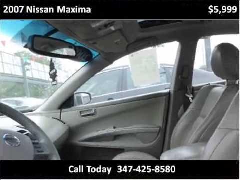 2007 Nissan Maxima Used Cars Brooklyn Ny Youtube