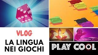 Vlog - La lingua nei giochi da tavolo - lo sproloquio di Daniele Playcool