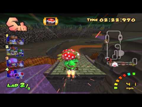 Mario Kart Double Dash - King Boo & Petey Piranha - Special Cup Mirror