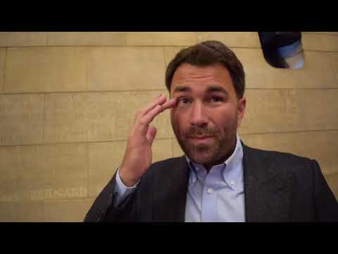 'THEY WILL PROBABLY BOO ME ON THE NIGHT' -EDDIE HEARN ON RITSON-HYLAND, GEORGE-KELLY, DAVE ALLEN