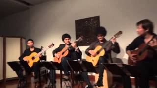 Bamboo Guitar Quartet - Camen Suite : Toreadors - Georges Bizet