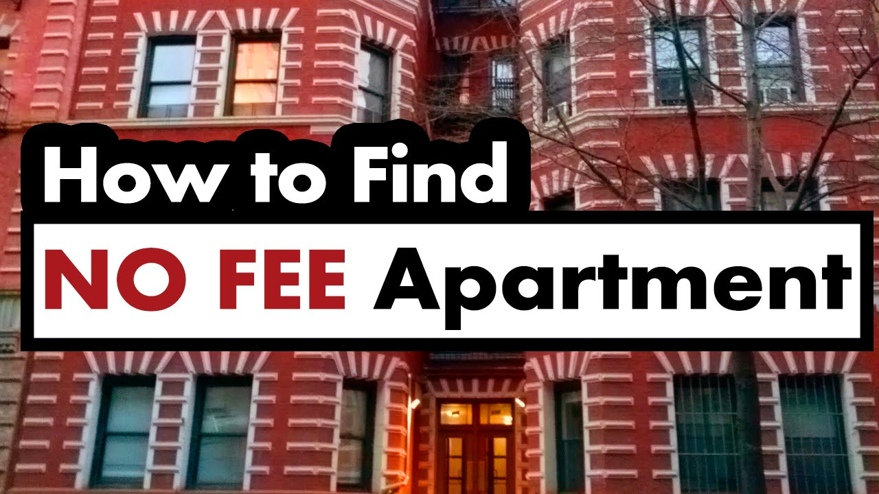 how to find a no fee apartment in new york city youtube