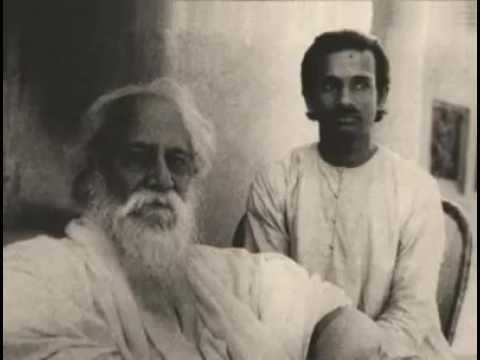 Rabindranath tagore with his own voice