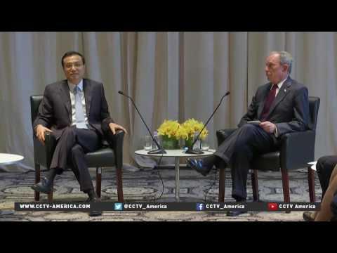 Premier Li addresses Economics Club of NY on second day of UNGA