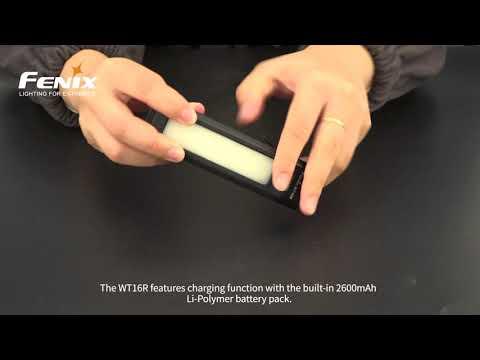 Senter Fenix WT16R Rechargeable Flashlight LED