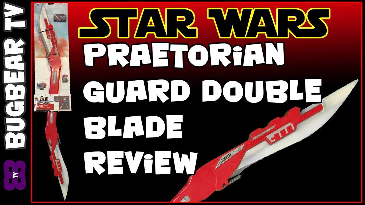 Elite Praetorian Guard Double Blade Toy Review