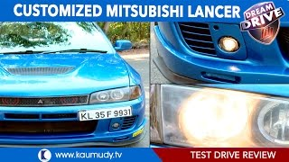 Customized mitsubishi lancer | Test Drive Review | Dream Drive