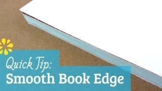 How to Trim a Smooth Book Edge | Sea Lemon