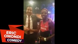 Eric Omondi Live at the Tonight Show with Jimmy Fallon