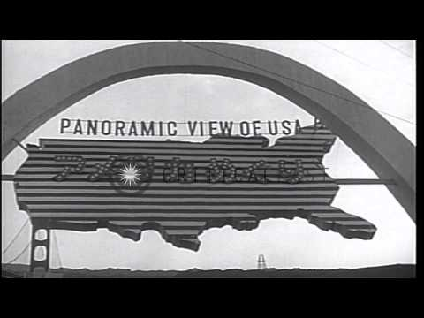 Japanese and Americans learn about each other during postwar occupation. HD Stock Footage