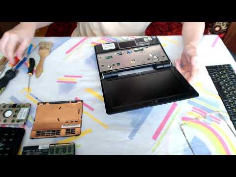 how to take my asus laptop apart
