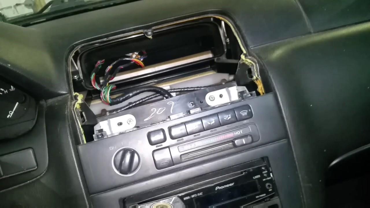 1995 to 1999 nissan maxima radio removal youtube rh youtube com 99 Maxima 99 Nissan Maxima