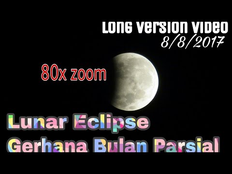 lunar eclipse live delay full and long version