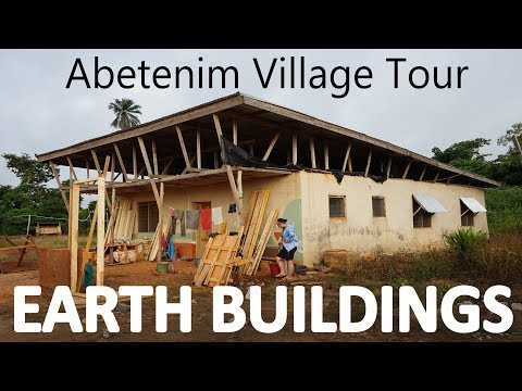 InsideOut: Earth Buildings Village Tour in Abetenim, Ghana,