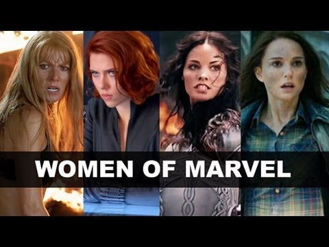 Women of Marvel Movies - Black Widow, Sif, Pepper Potts, Ms Marvel! ...