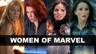 Women of the Marvel Movies - Black Widow, Sif, Pepper Potts, Ms Marvel?! - Beyond The Trailer