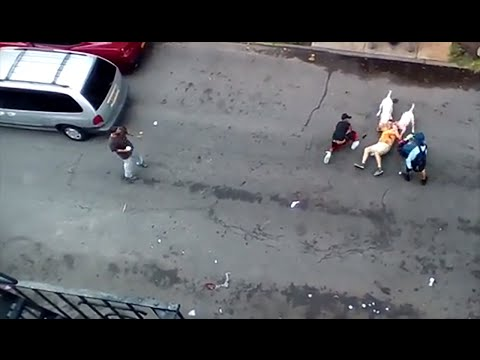 Pit Bulls Maul Multiple Men [GRAPHIC VIDEO]
