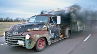Repeat youtube video Badass Diesel Turbo RAT ROD Pickup